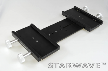 "Starwave Dual Losmandy-format 3"" side by side dovetail bar kit (265mm OTA separation)"